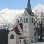 Evangelický kostel ve Strážném - Hořejších Herlíkovicích